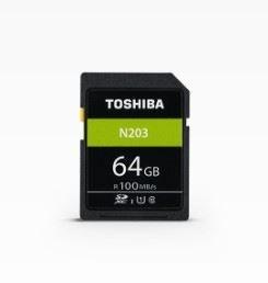 N203 hukommelseskort 64 GB SDXC Klasse 10 UHS-I