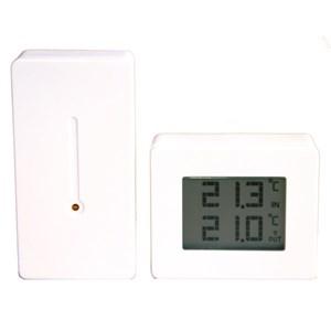 Image of   Trådlös Termometer Vit