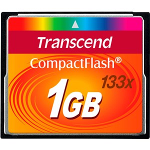 1 GB CF 133x hukommelseskort CompactFlash MLC