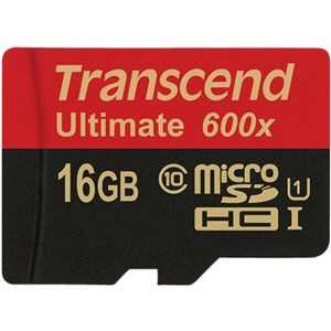 16GB microSDHC Class 10 UHS-I (Ultimate) hukommelseskort Klasse 10 MLC