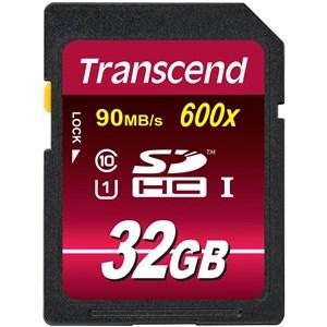 32GB SDHC CL 10 UHS-1 hukommelseskort Klasse 10 MLC