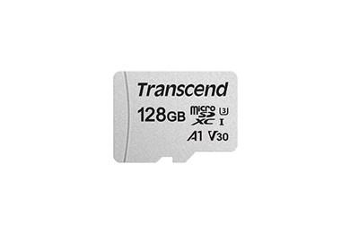 TS128GUSD300S-A hukommelseskort 128 GB MicroSDXC Klasse 10 NAND
