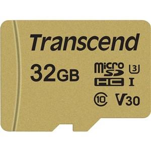 TS32GUSD500S hukommelseskort 32 GB MicroSDHC Klasse 10 UHS-I