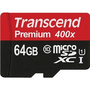 TS64GUSDU1 hukommelseskort 64 GB MicroSDXC Klasse 10 MLC
