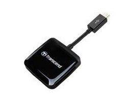 USB2.0 OTG READER BLACK smartcard læser Sort