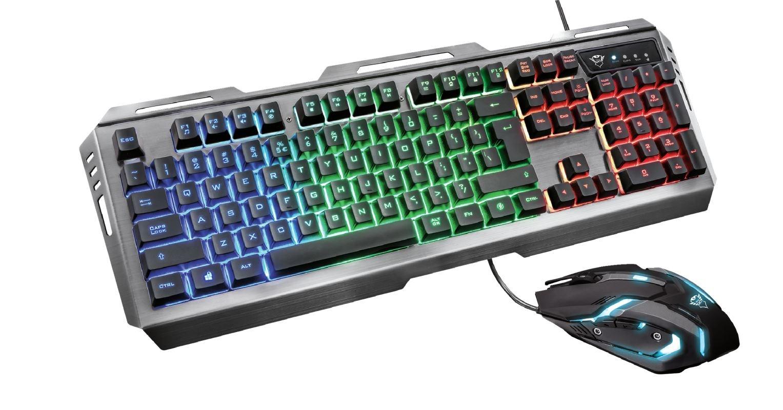 Flot GXT 845 Gaming-tastatur og mus Trust Tastatur - Skiftselv.dk CV-82