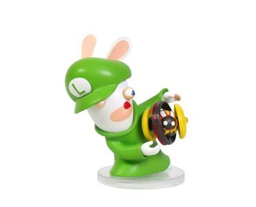 Image of   Mario + Rabbids Kingdom Battle: Rabbid Luigi 3'' 1 stk