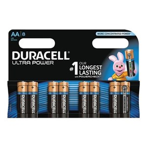 Ultra Power AA Batterier, 8pk