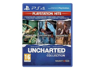 Sony Uncharted: The Nathan Drake Collection (Playstation Hits) (Nordic)