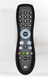Image of   Easy & Robust TV fjernbetjening IR trådløs Tryk på knapper