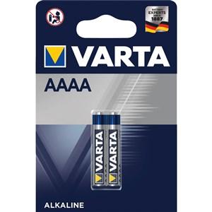 Image of   2x AAAA Engangsbatteri Alkaline