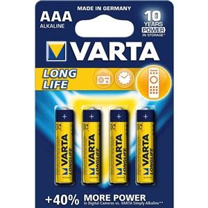 Image of   1x4 LR 03 Engangsbatteri AAA Alkaline