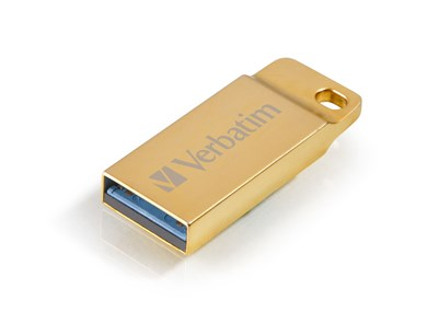 Verbatim Metal Executive USB-nøgle 64 GB USB Type-A 3.2 Gen 1 (3.1 Gen 1) Guld