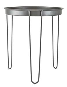 Image of   Bord - Metal - Grå - D 40,0cm