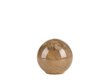 Image of   Bordlampe D20 x 18 cm Brun glas