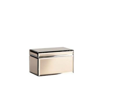 Image of   Box 17x10x10 cm brun glas Vill
