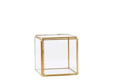Image of   Box - Glas - Metal - Messing -