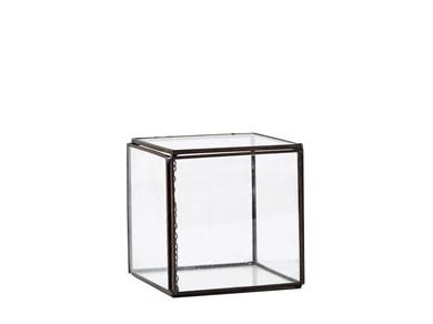 Image of   Box - Glas - Metal - Titanium