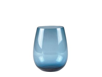 Image of   Drikkeglas 4 stk. 11 cm D9 cm Blue
