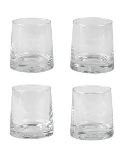 Image of   Drikkeglas 4 stk. Glas Klar 28cl