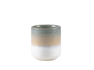 Image of   Duftlys D7 x 7 cm Blå keramik