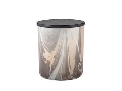 Image of   Duftlys D9 x 10 cm Brun Glas