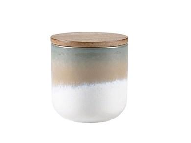 Image of   Duftlys D9 x 9 cm Blå Keramik