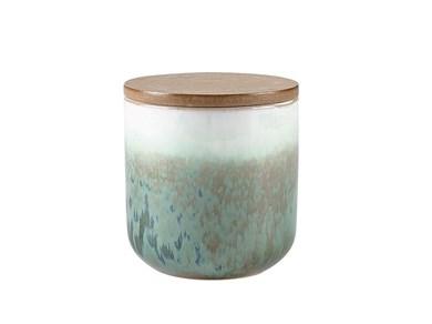 Image of   Duftlys D9 x 9 cm Grøn Keramik