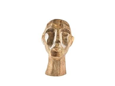 Image of   Figur, Hoved 13x15x18 cm Natur Mangotræ