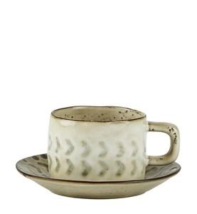 Image of   Kaffekop - m. mønster - m. und