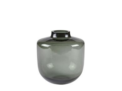 Image of   Vase 16 cm D15 cm Grå glas Vil