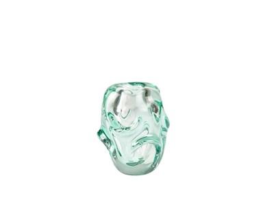 Image of   Vase D12,5 x 15 cm Cyan Glas
