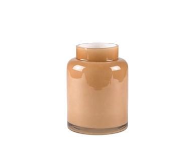 Image of   Vase D14 x 20 cm Brun Glas