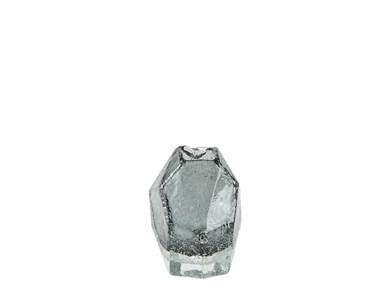 Image of   Vase - Glas - Grå - D 10,5cm -