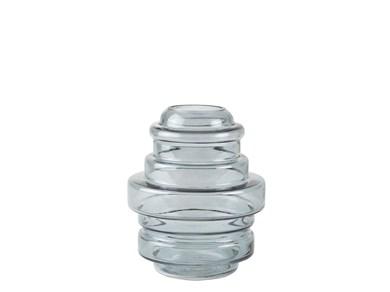 Image of   Vase - Glas - Grå - D 16,0cm -