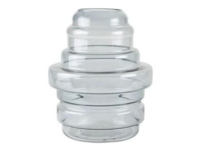 Image of   Vase - Glas - Grå - D 25,0cm -