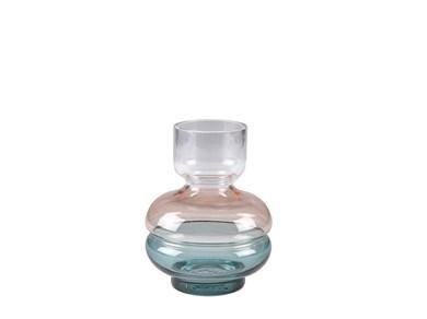 Image of   Vase 15cm D11 Multicolor glas