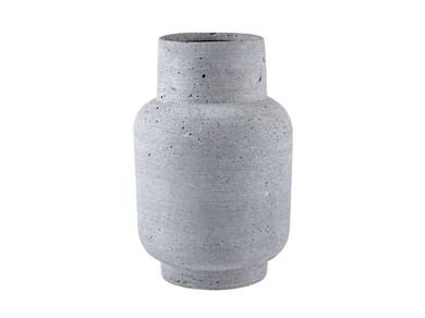 Image of   Vase 24 cm Ø15 cm Mørkegrå pol