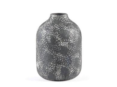 Image of   Vase 26cm D17 Sort Stentøj