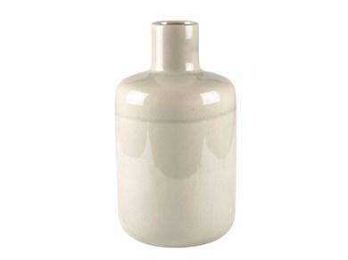 Image of   Vase 49cm D19 Creme Stentøj