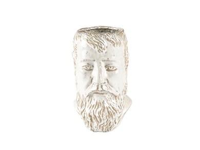 Image of   Vase/Skjuler H23 cm Hvid Stentøj