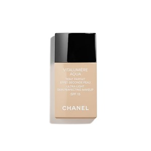 Image of   Flydende makeup foundation Vitalumière Aqua Chanel 50 - beige senne 30 ml