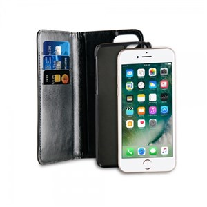 Image of   2in1 Wallet/Back Cover iPhone 8/7 Black