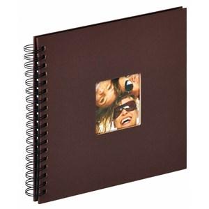 Image of   Fun fotoalbum og arkbeskyttelse Brun 40 ark S