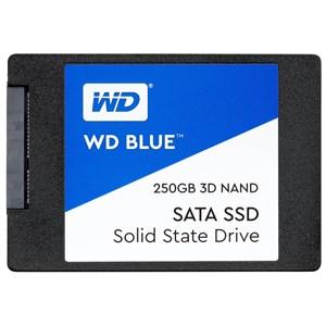 "Image of   Blue 2.5"" 250 GB Serial ATA III 3D TLC"