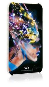 Image of   WHITE-DIAMONDS Cover iPhone 4/4s Nafrotiti Sort