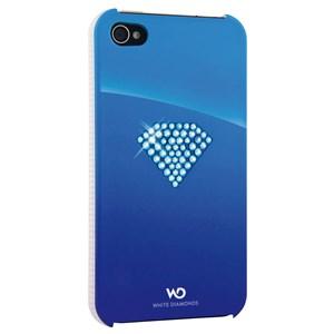 Image of   WHITE-DIAMONDS Cover iPhone 4/4s Rainbow Blå