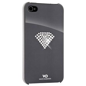 Image of   WHITE-DIAMONDS Cover iPhone 4/4s Rainbow Sølv