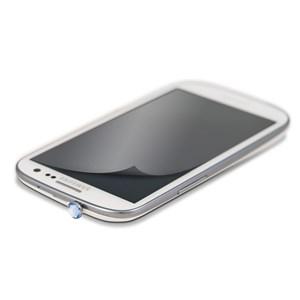 Image of   WHITE-DIAMONDS 3,5mm PIN Blå inkl Sams.S3 glitterskærmfolie