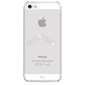 Image of   WHITE-DIAMONDS Cover iPhone5/5s/SE Arrow Transparent
